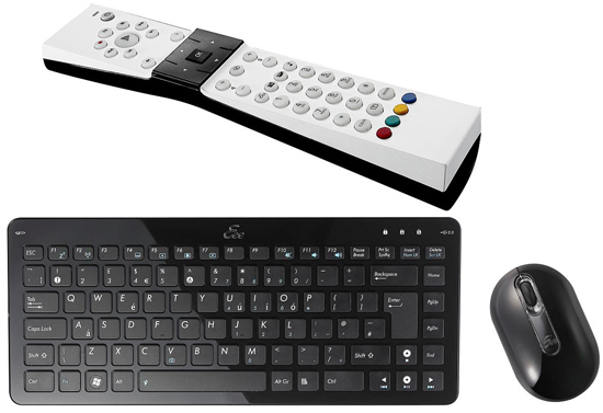Asus Eee Keyboard, Mouse, and Remote