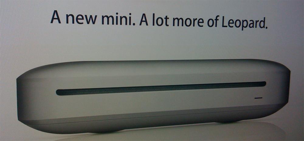 Mac Mini Rumor
