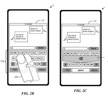 iPhone Keyboard Gestures, Delete