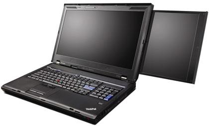 11 Pound Lenovo with 2 Screens