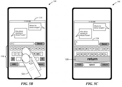 iPhone Keyboard Gestures, Return