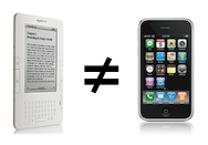 Kindle Not Equal to iPhone