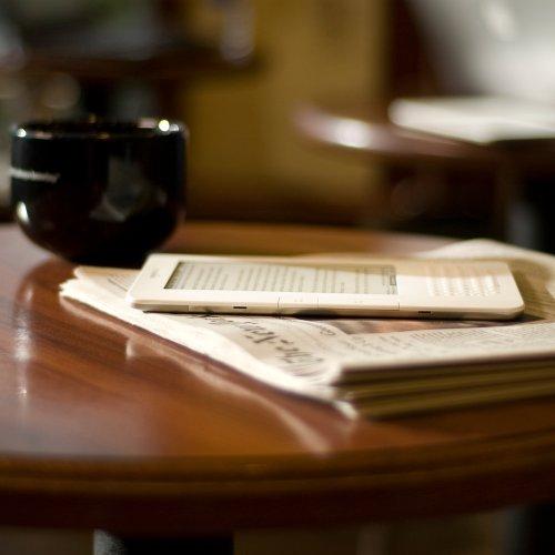 Amazon Kindle 2 On Table