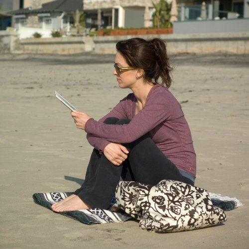 Amazon Kindle 2 On Beach