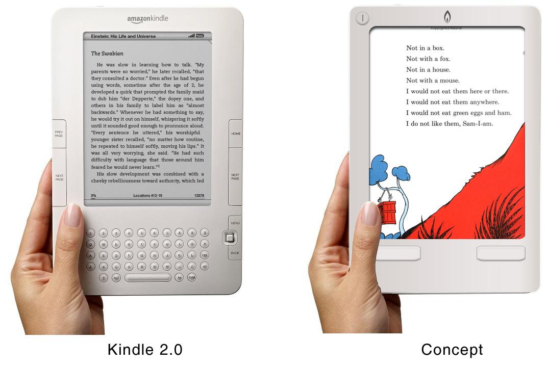 Gregory Raiz's Kindle Redesign