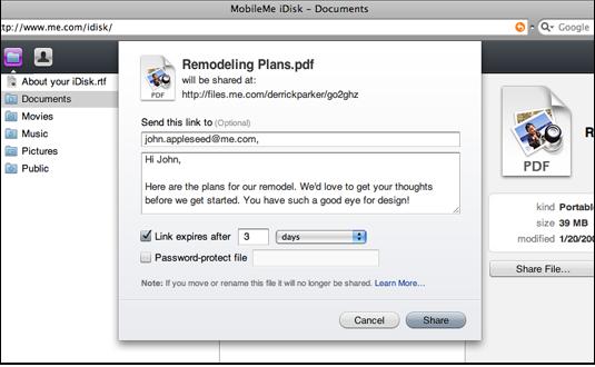 MobileMe File Sharing 1