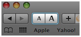 Safari 4 Web Page Zoom