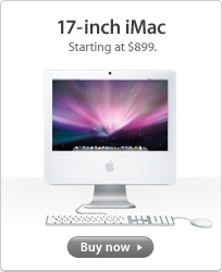"$899 17"" iMac"